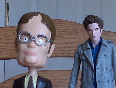 Pocket Edward and Dwight Schrute Bobblehead