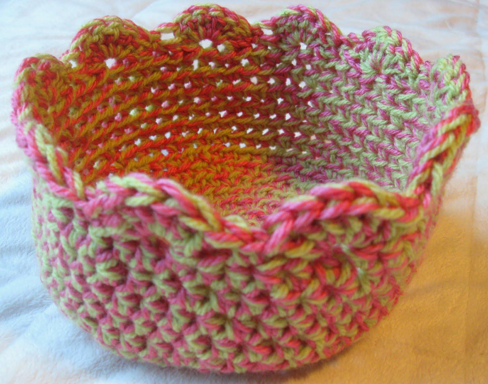 Crochet Bowl Pattern Interesting Inspiration