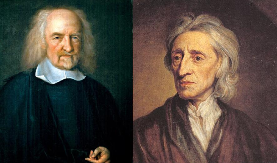 how thomas hobbes and john locke John locke and thomas hobbes were two important philosophers from the seventeenth century the two were born nearly 50 years apart ð²ð' hobbes in 1588 and locke.