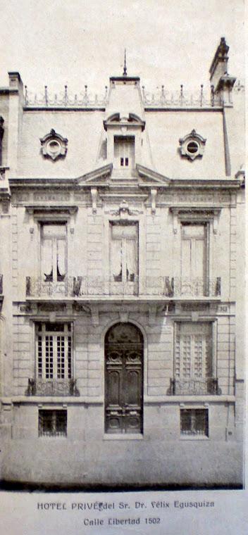Hotel de Félix Egusquiza.