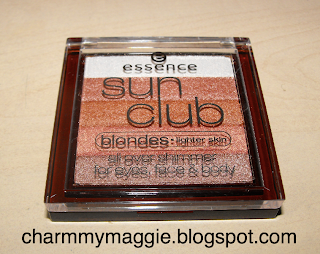 Essence Sun Club All Over Shimmer- lighter skin