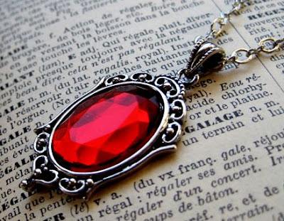 Antique Ruby Pendant
