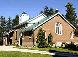 Christ Church, Huntingford, Ontario