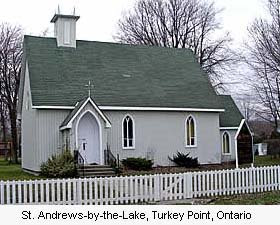 St Andrew's-by-the-Lake, Turkey Point, Ontario