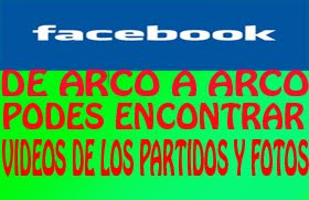 HACE AMIGO EN FACEBOOK DE ARCO A ARCO