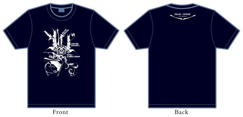 Illusion Sensation: Cekak Hanafi T-Shirt