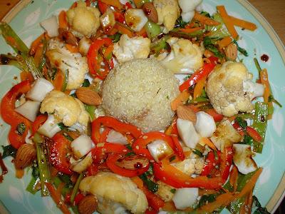 Quinoa sa povrćem iz woka DSC00338