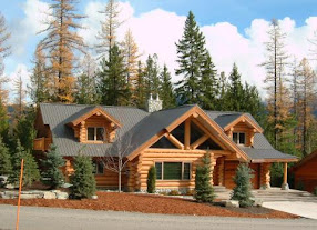 For Handcrafted Log Homes and Studios