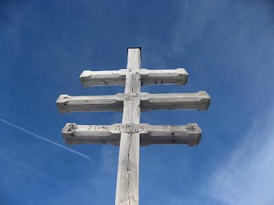 Gipfelkreuz Schoeneck (Stoarnerne Manderln) - Sarntaler Alpen