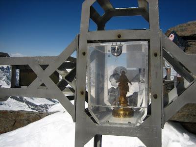 Gipfelkreuz Dufourspitze - Monte Rosa