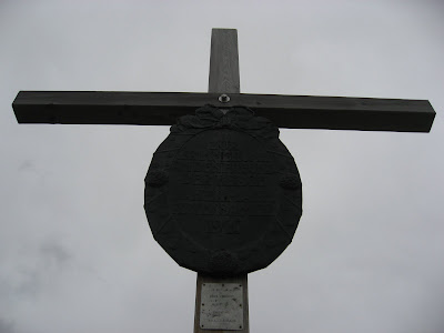 Gipfelkreuz Kronplatz - Plan de Coronnes