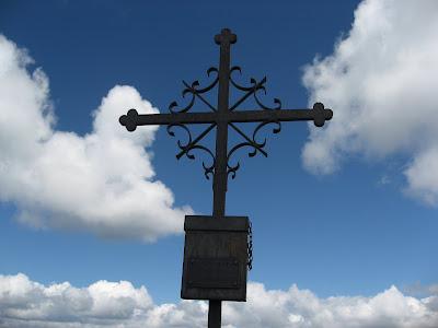Gipfelkreuz Cima di Cece