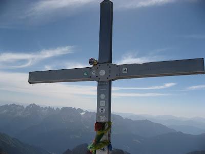 Gipfelkreuz Cima Presanella