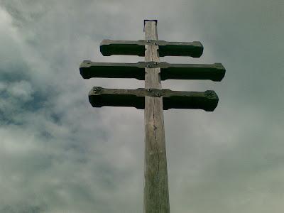 Gipfelkreuz Stoanerne Mandeln
