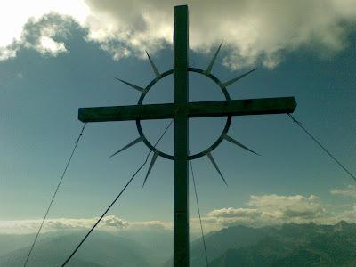 Gipfelkreuz Hirzer - Sarntaler Alpen
