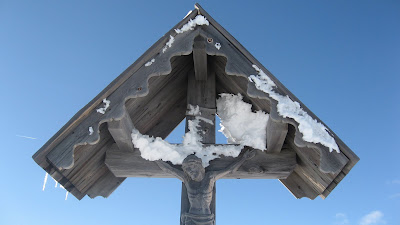 Gipfelkreuz Gaishorn / Sütirol