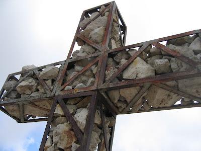 Gipfelkreuz Kesselkogel - Rosengarten