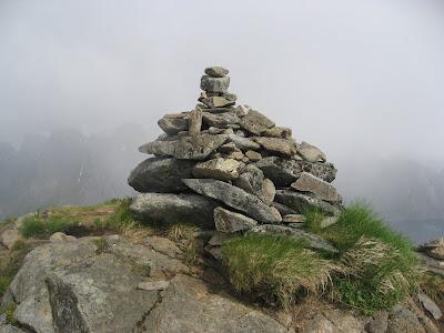 Gipfelaufbau am Reinebringen - Lofoten