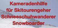 Kameradenhilfe Skitourengeher Snowboarder Schneeschuhwanderer Sudtirol