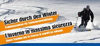Trainingszentren fuer Lawinenverschuettung - Sicher durch den Winter