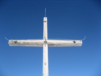 Gipfelkreuz Dreifingerspitze - Dolomiten