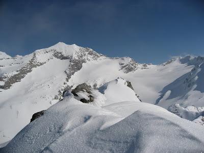 Gipfelaufbau Östlicher Hochwart