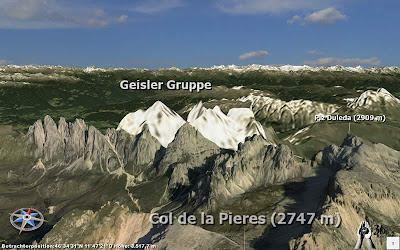 Dolomiten / Geislergruppe in 3D Realitymaps