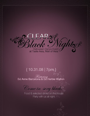 Clear Black Night