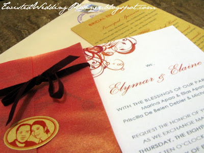 Pocket Wedding Invitations on The Twisted Wedding Planner  Do It Yourself Wedding Invitation