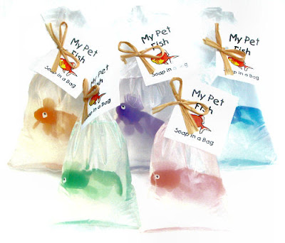 La retro boutique my favorite things my pet fish soap for Fish in a bag soap