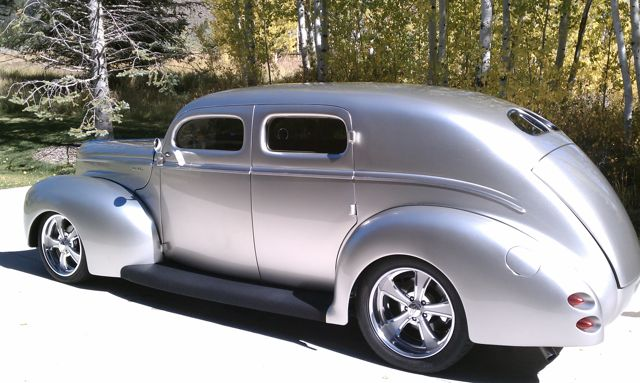 Broadway ford collision repair 1940 ford custom deluxe for 1940 ford 4 door