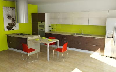 Design interior bucatarie Timisoara