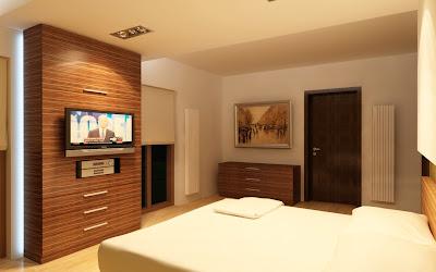 Design interior culori calde