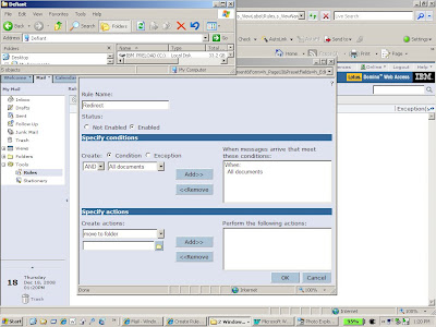 Configure Lotus Notes to foward email