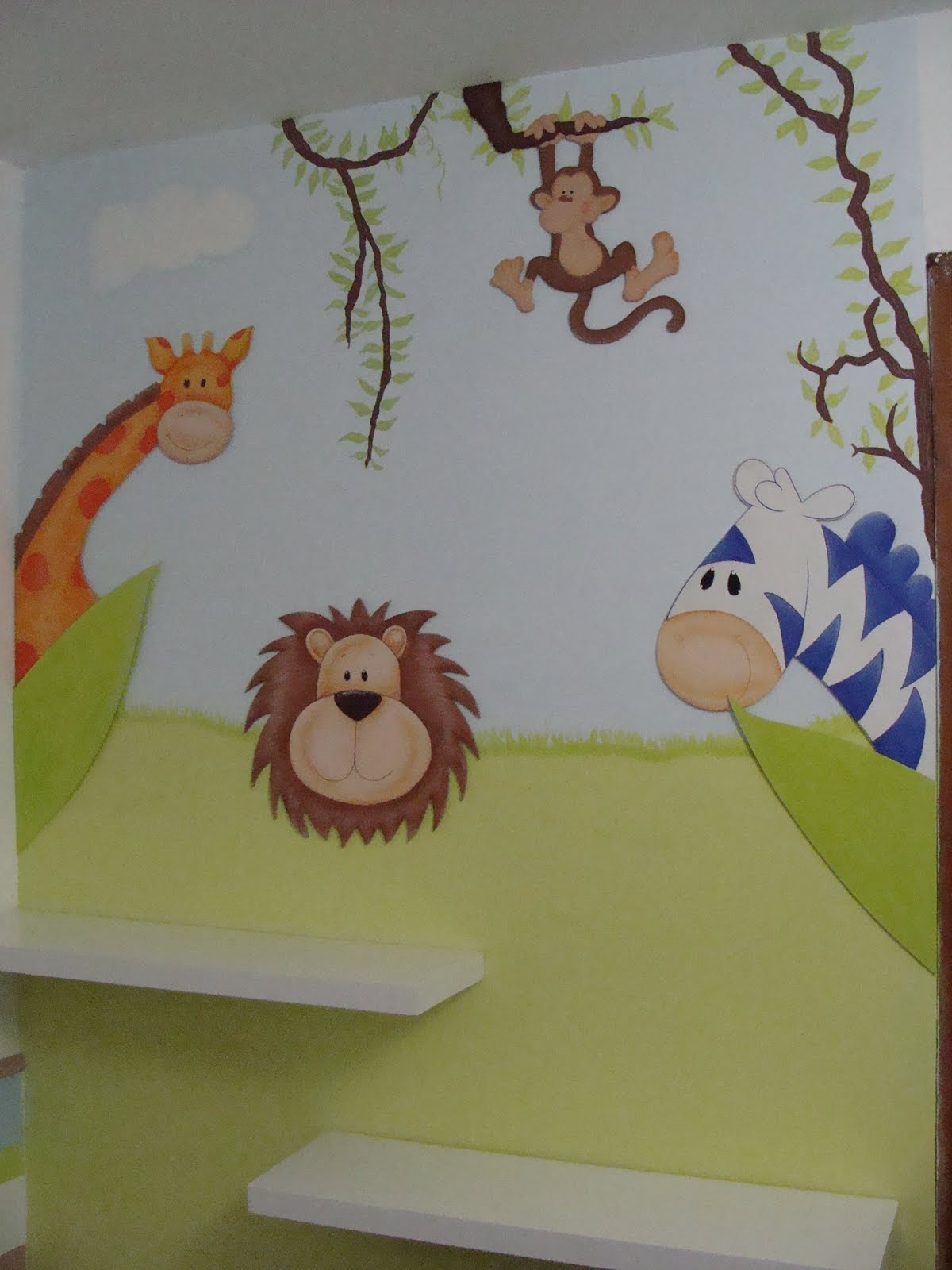 El cuarto de joaquin for Decoracion habitacion de bebe varon