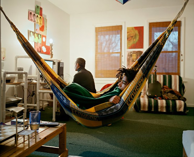 One for the cuk tastemeisters for Living room hammock