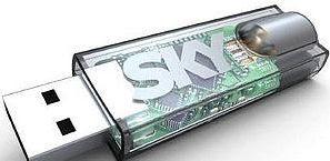 Chiavetta USB Digital Key, Sky Digitale Terrestre