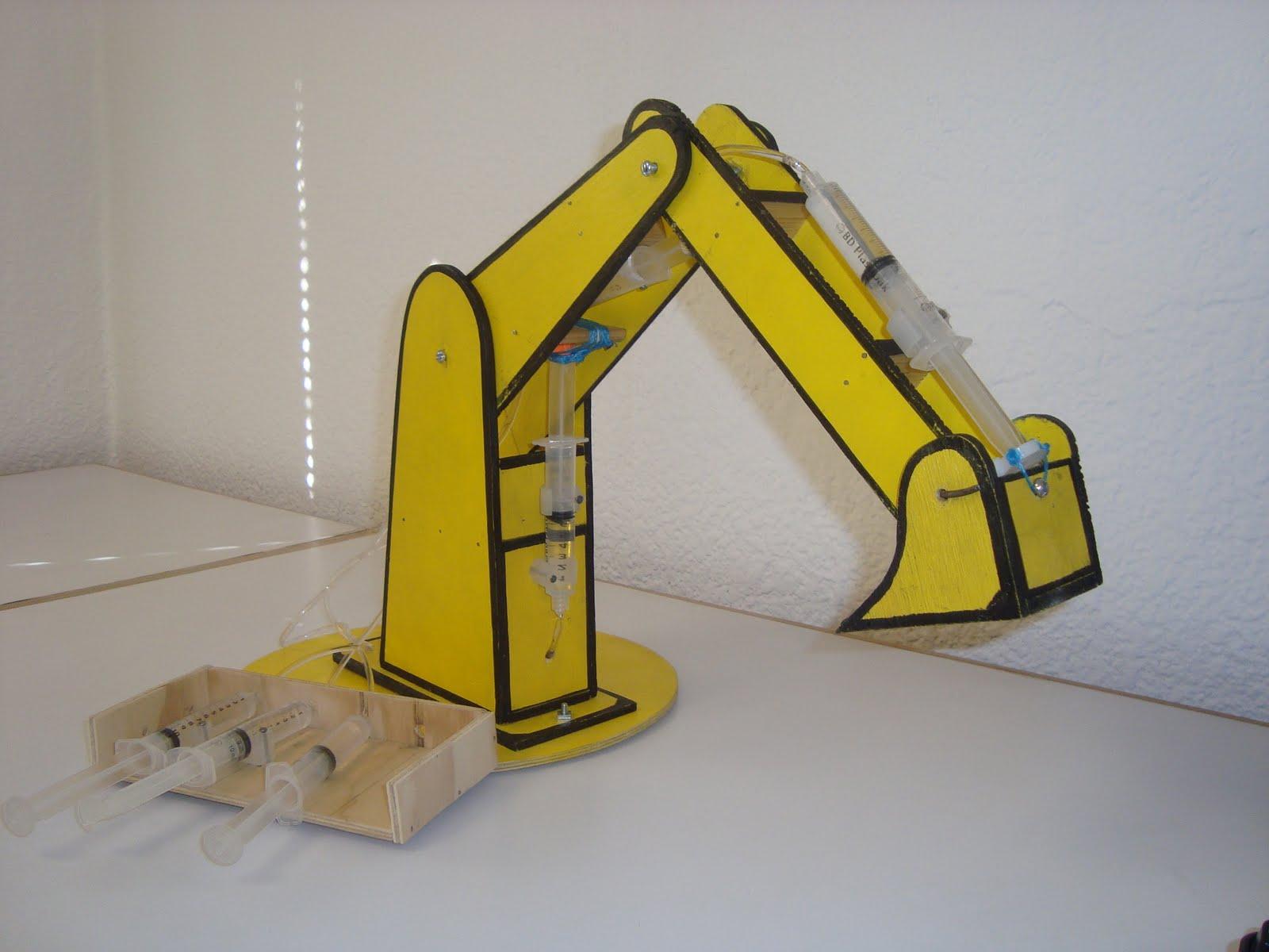 Un brazo hidráulico es una estructura o aparato mecánico que se divide en tres partes unidas entre si y que se pueden mover independiente mente una de la
