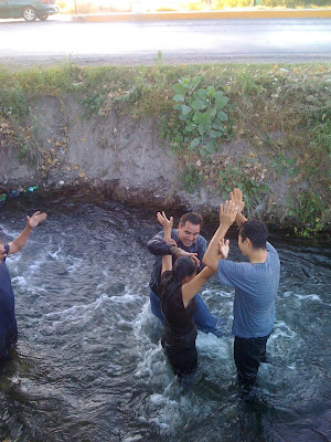 Recieving the Holy Ghost in canal! - www.mylesyoung.com