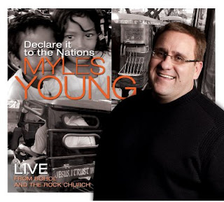 Declare it to the Nations is the newest release from Pastor C. Myles Young of the Rock Church, Sacramento, CA.  This unique album was recorded LIVE in Bohol, Philippines and The Rock Church.  This project promises new material that will bless you, your church, and the world. - www.mylesyoung.com