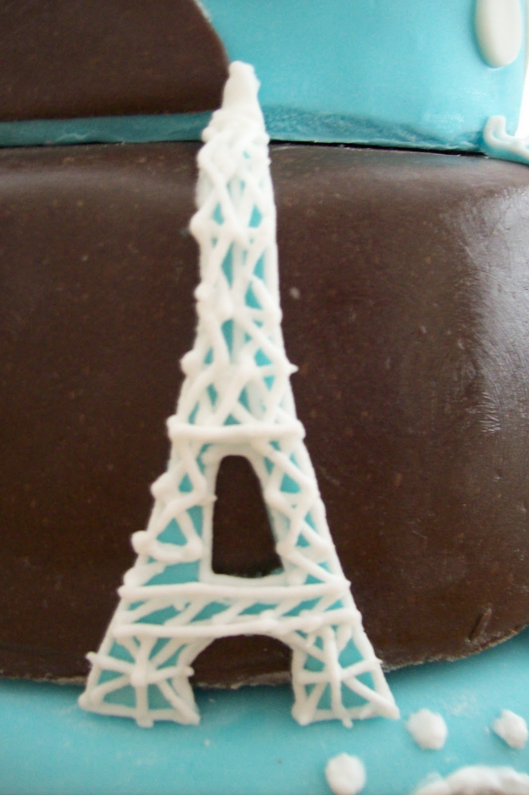 Sugar Trail Eiffel Tower Birthday Cake