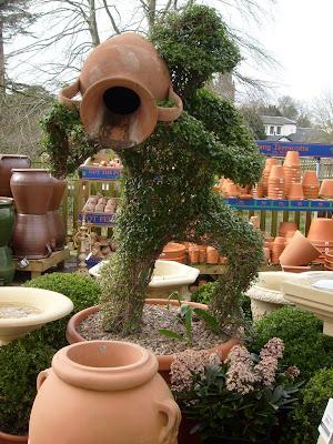 Budama sanatı topiary ya da bitkilere form vermek