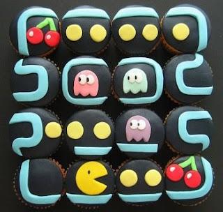 Pacman Cake Cupcakes