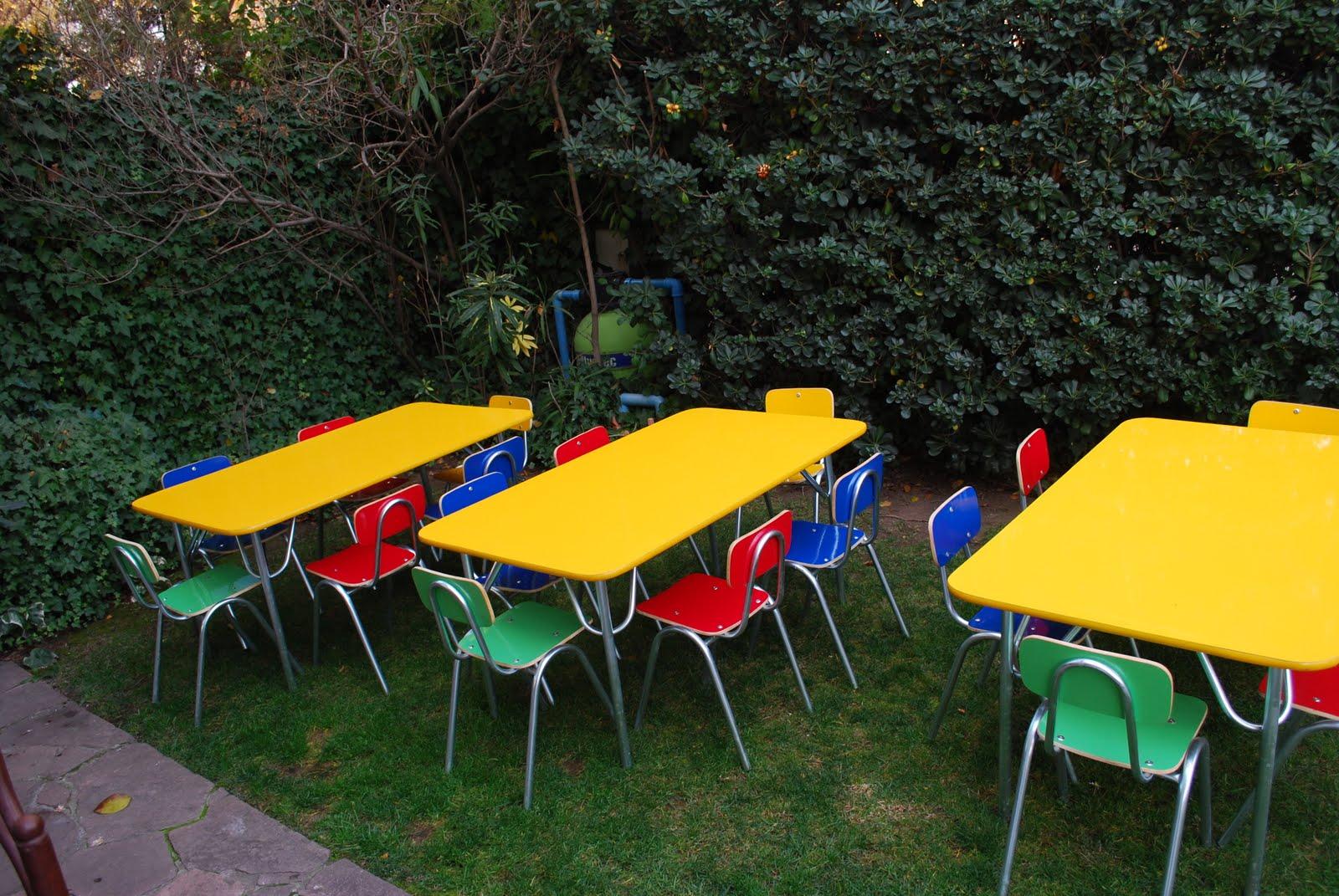 Arriendo mesas y sillas infantiles enero 2011 - Sillas y mesas infantiles ...