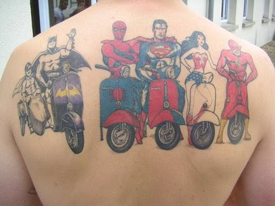 super hero tattoo