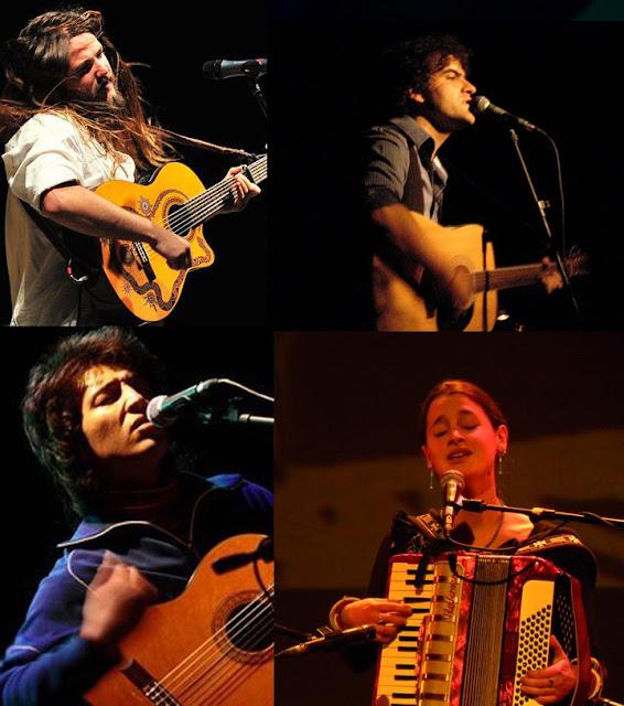 Chinoy, Fernando Milagros, Pascuala y Nano Stern en Municipal de Viña