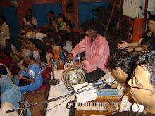 musicos de Puja la ceremonia