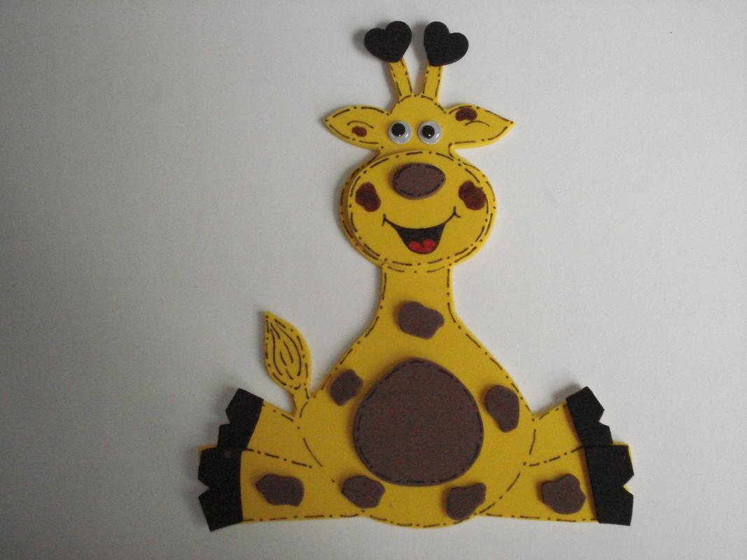 Molde De Girafa E Zebra