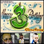 Uyeeh's 3rd Birthday GA