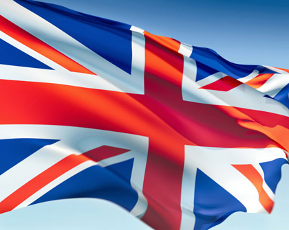 Топ Британский флаг / Магазин футболок.